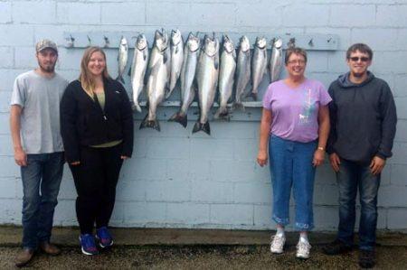 08-16-2017 Ludington Fishing Report